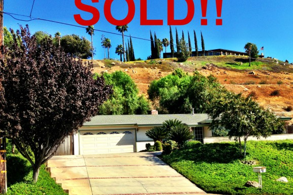 Just Sold- 7788 Lakeside Dr. Riverside, CA 92509